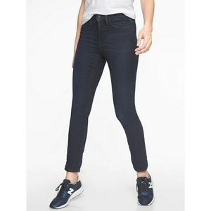 Athleta sculptek skinny blue denim jeans size 10